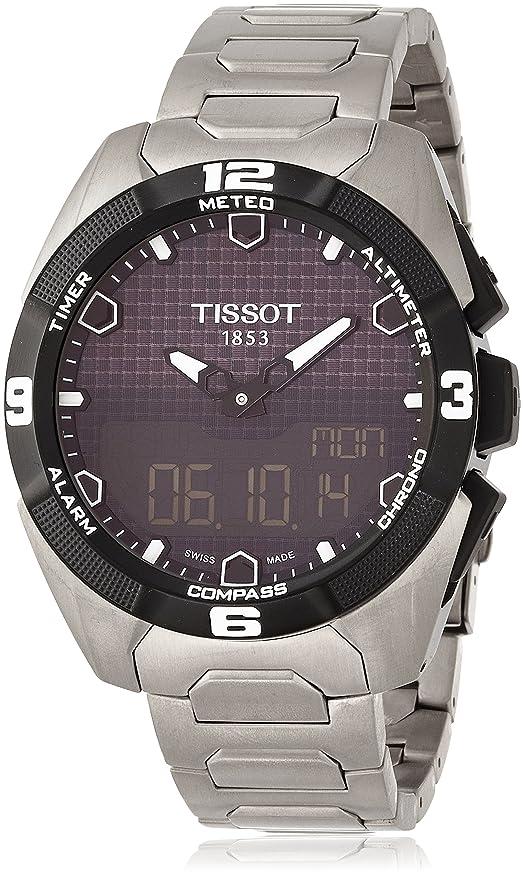 Tissot T-Touch Expert Solar Análogico-digital con Correa en Titanio T0914204405100