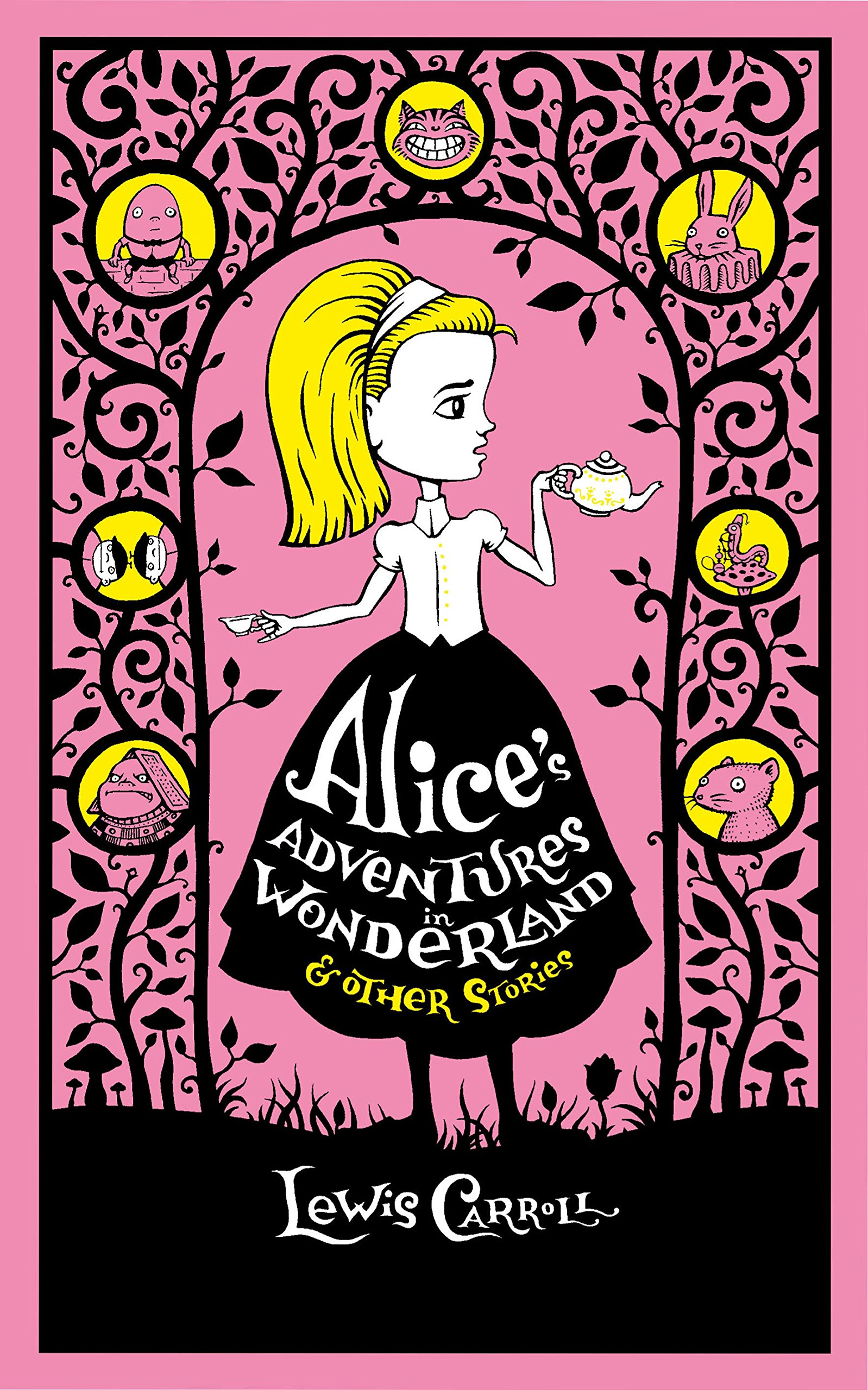 Alice's Adventures in Wonderland & Other Stories (Barnes & Noble Collectible Classics: Omnibus Edition) (Barnes & Noble Leatherbound Classic Collection)