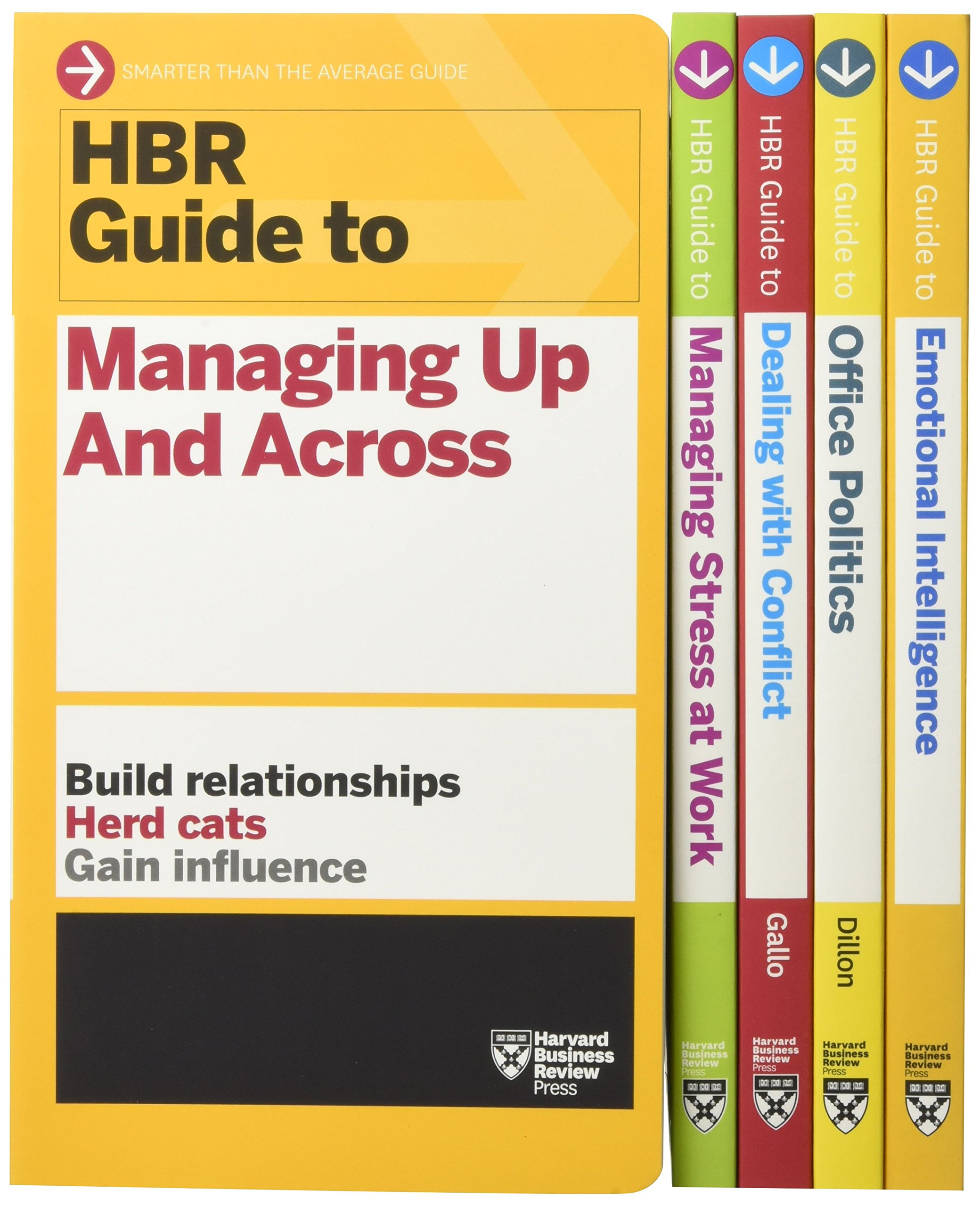 HBR Guides to Emotional Intelligence at Work Collection (5 Books) (HBR Guide  Series): Harvard Business Review, Karen Dillon, Amy Gallo: 9781633694170:  ...