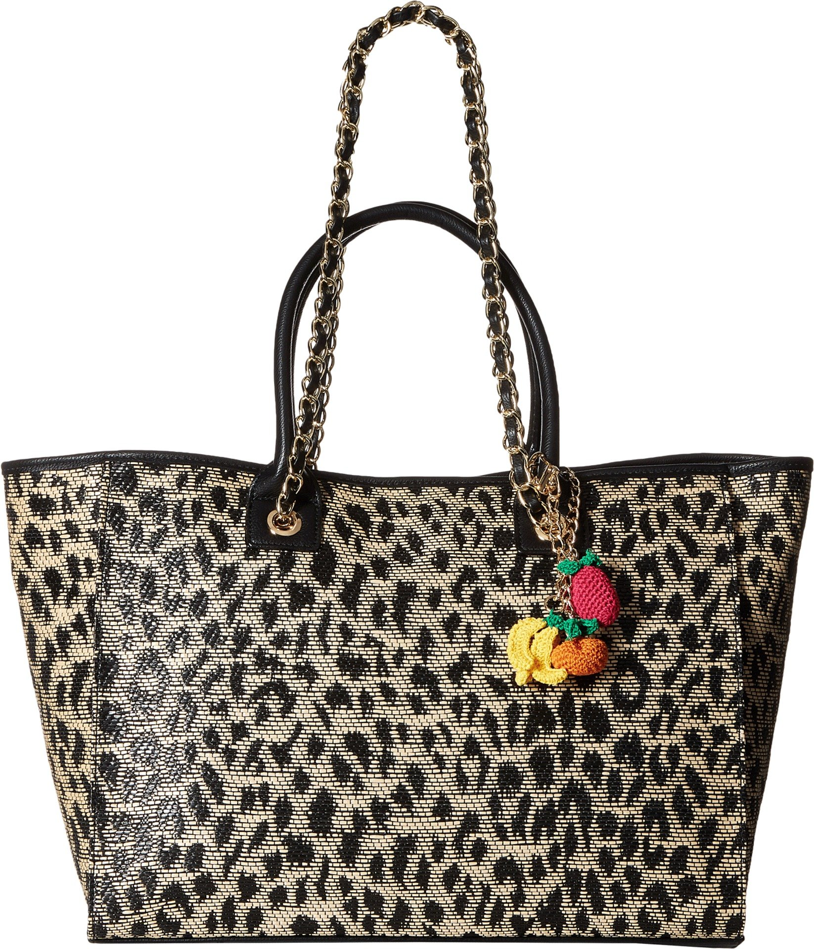 Betsey Johnson Mighty Jungle Large Tote, Leopard by Betsey Johnson (Image #3)