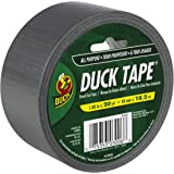 Duck Brand 1044729 All-Purpose Duct Tape, 1.88 Inches by 20 Yards, Silver, Single Roll