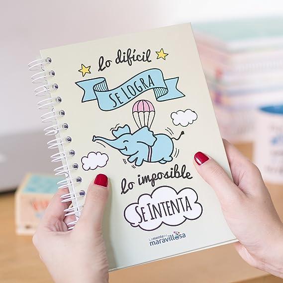 La Mente es Maravillosa - Cuaderno A5 (Lo difícil se logra ...