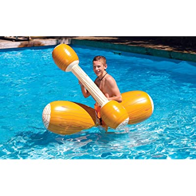 Swimline Log Flume Joust Set: Toys & Games