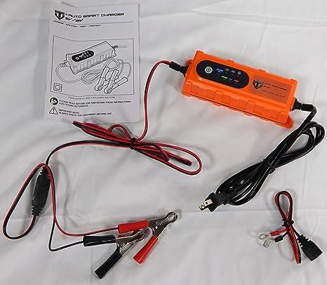 i-auto Smart Charger 6 V/12 V Cargador/mantenedor de batería ...