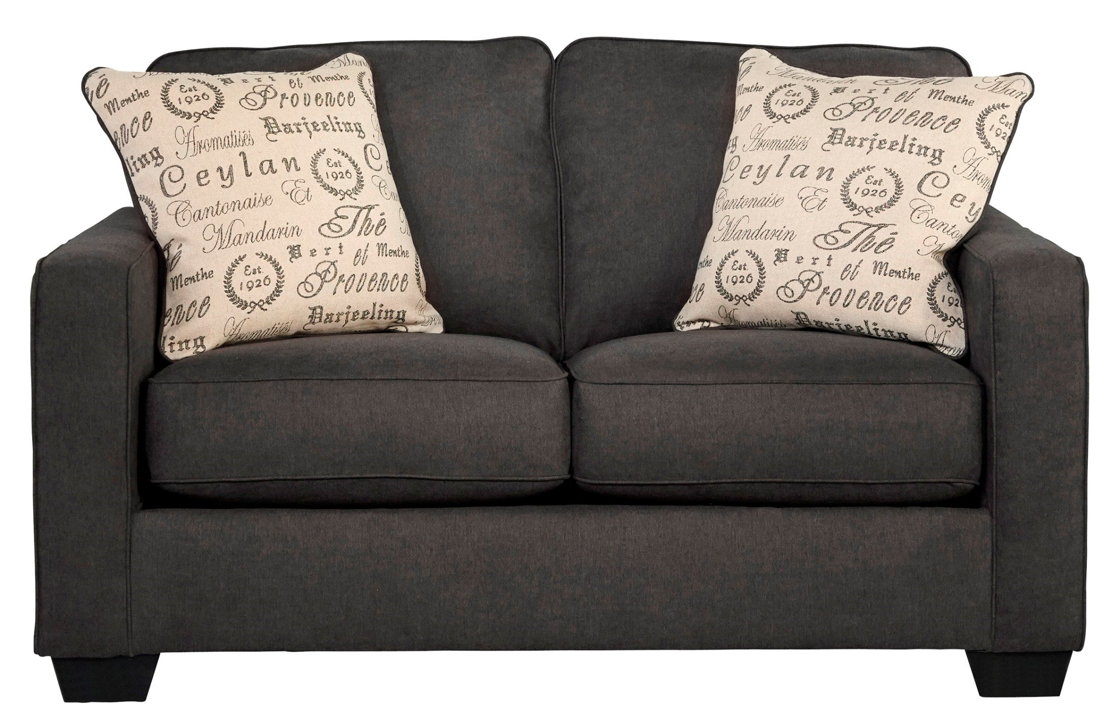 Signature Design by Ashley Alenya Charcoal Loveseat -  - sofas-couches, living-room-furniture, living-room - 91QoQdPNxyL -