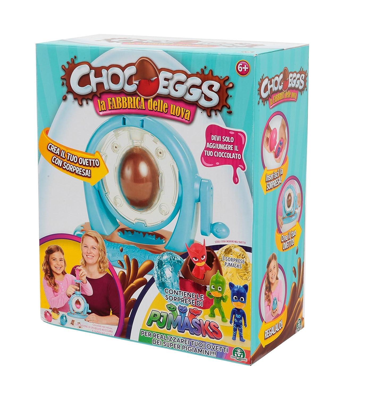 Giochi Preziosi Chocoeggs: la fábrica de huevos» de PJ Masks - Juego para hacer huevos de chocolate con sorpresa de los Héroes en Pijama: Amazon.es: ...