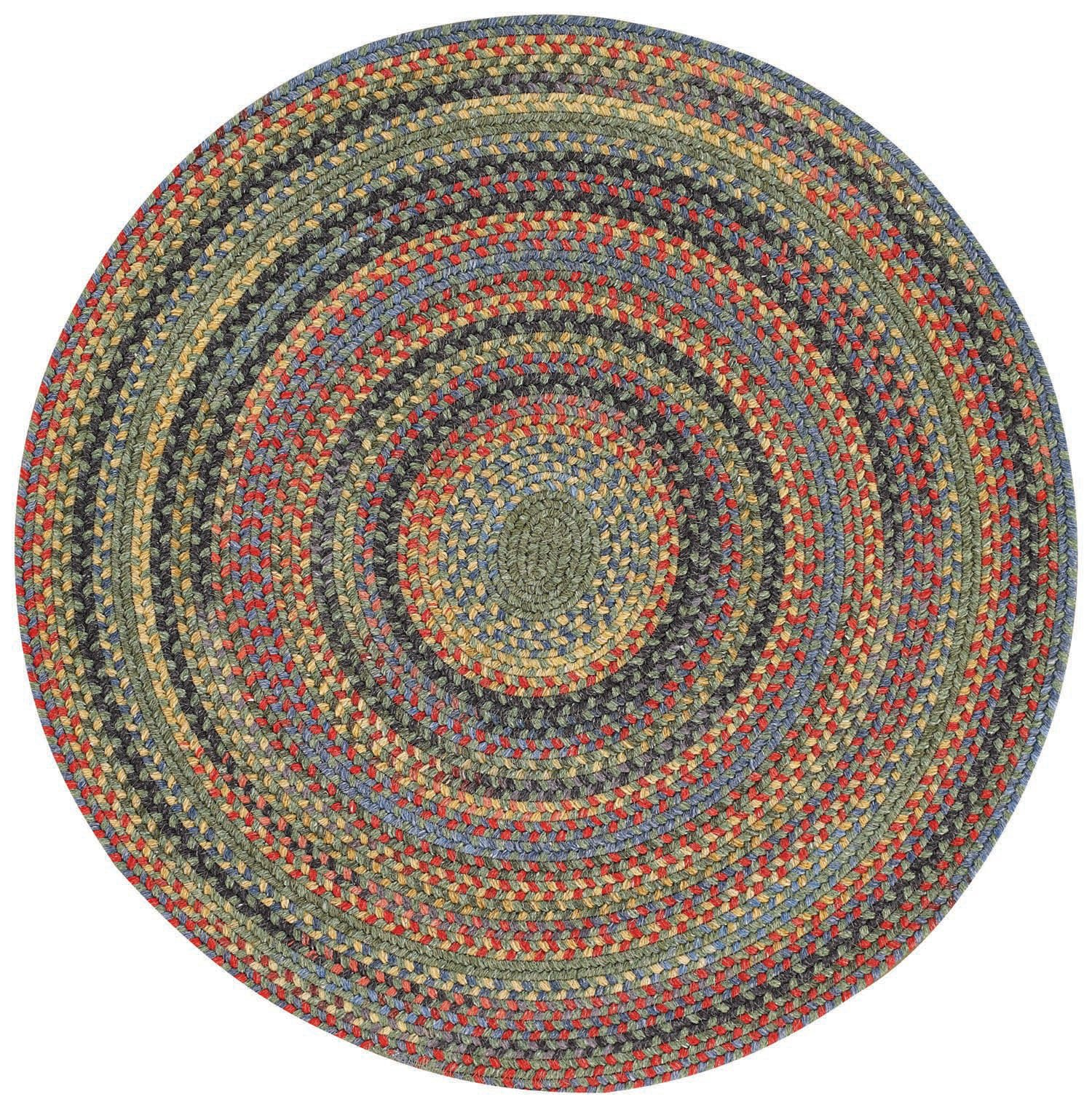 Used Oval Braided Rugs: Round Braided Rug: Amazon.com