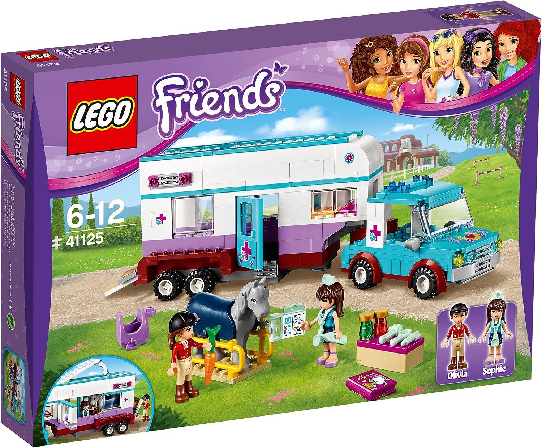 Lego Friends - Remolque del Veterinario de Caballos (6136475)