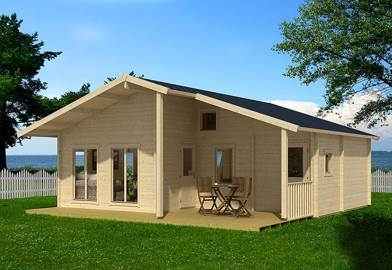 Allwood Avalon Cabin Kit | 540 SQF + Loft (Double Glass Windows and Doors)