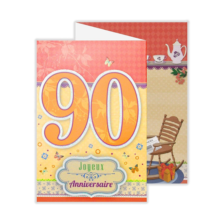 Afie 882103 Carte 3 Volets Joyeux Anniversaire 3 Ans