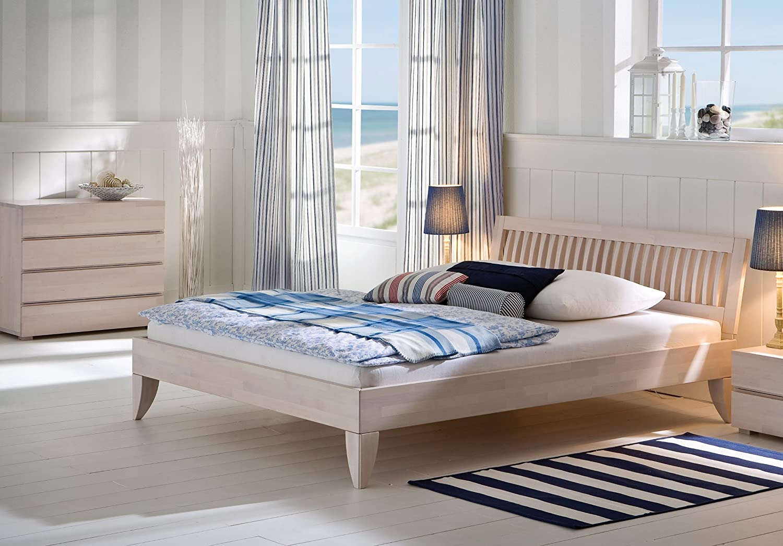 Stilbetten Bett Holzbetten Senso Kernesche 180x200 cm