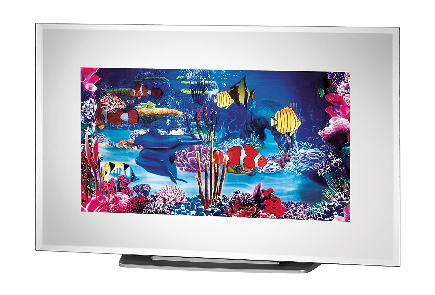 """Rotating FLAT SCREEN Table Top or Wall Mount """"Underwater Paradise ..."""