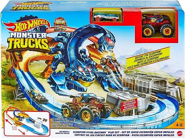 Hot Wheels Monster Trucks Scorpion Raceway