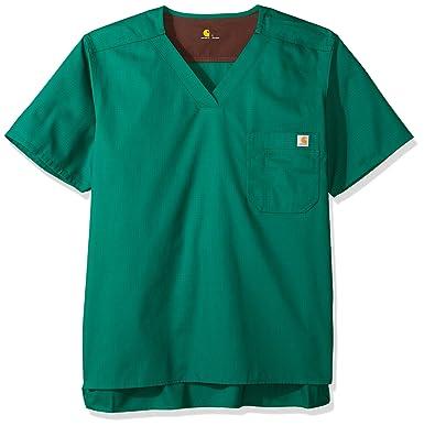 273a3c66735 Amazon.com: Carhartt Men's Ripstop Utility Scrub Top: Clothing