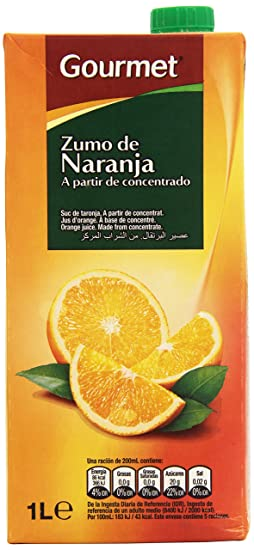Gourmet - Zumo de naranja - 1 l