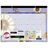"""Amazon Price History for:AT-A-GLANCE Desk Pad Calendar 2017, Monthly, 21-3/4 x 17"""", Paper Flowers (5035-17)"""
