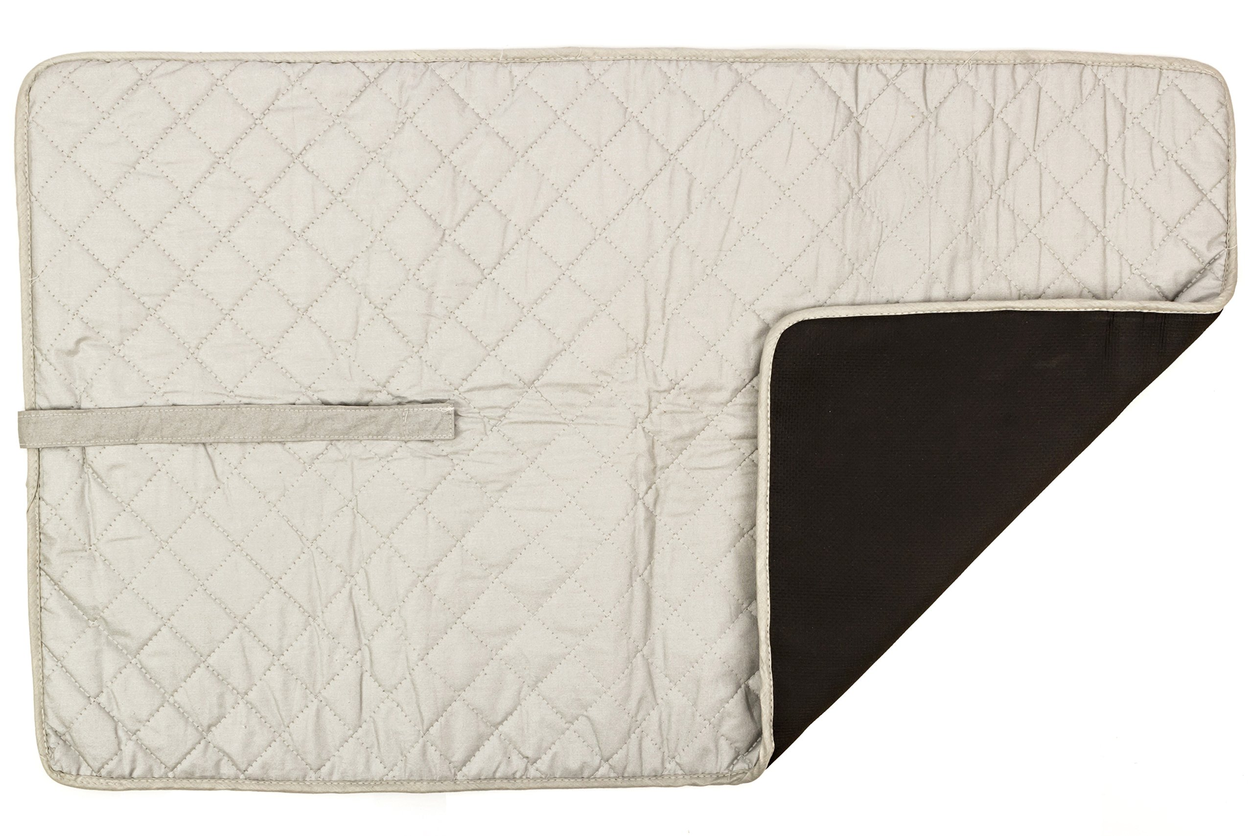 Heat/Moisture Repellent Non Skid Portable Ironing Blanket Mat for Table Top Large for Quilting Sewing and Iron