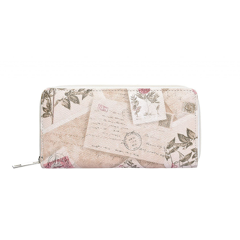 Mujer Monedero XL rosas Vintage taupe Monedero largo ...