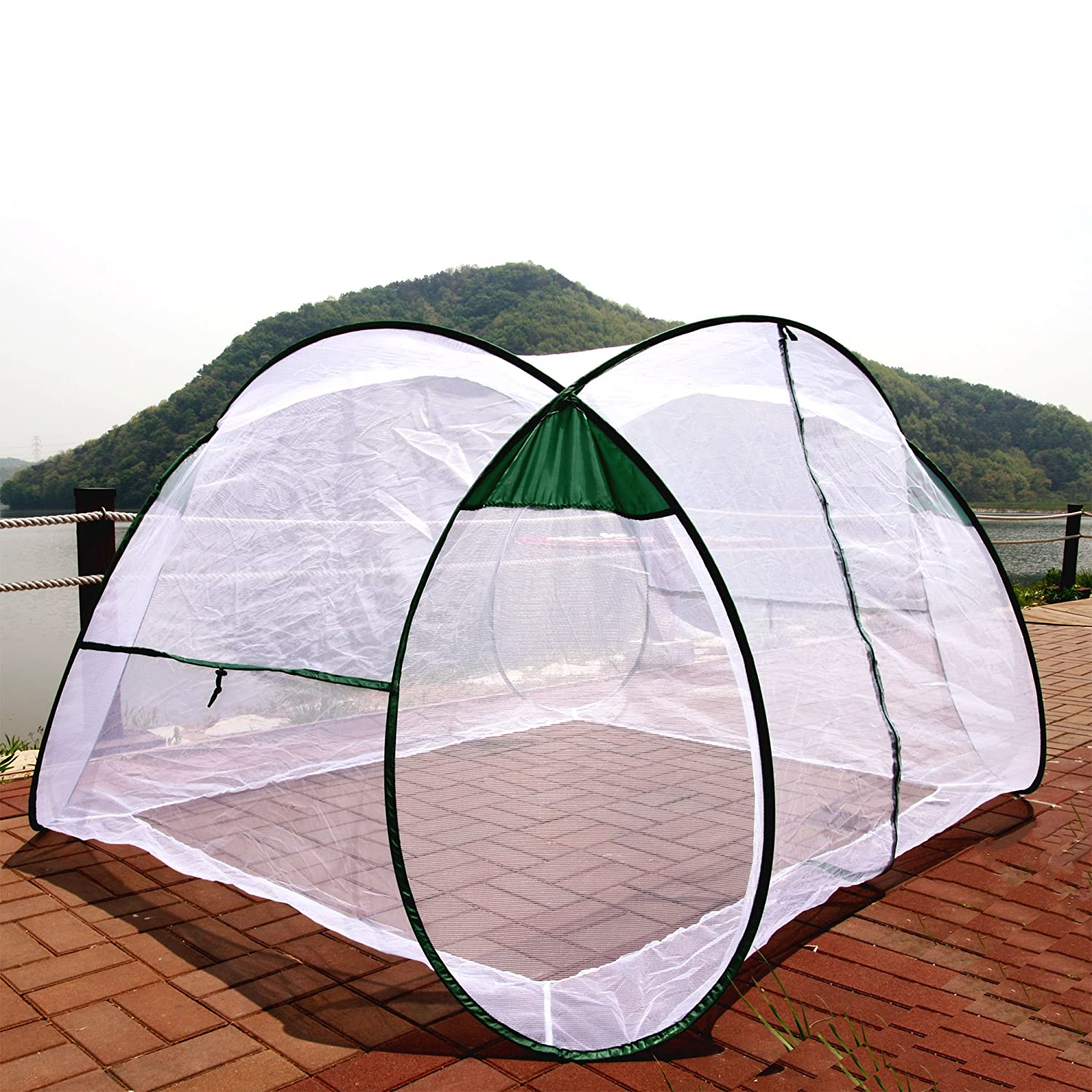 Amazon.com  SpeedTent Portable Foldable Mosquito Net Tent Insect protection nets Anti-Bug Net 4~5 Person net tents  Baby  sc 1 st  Amazon.com & Amazon.com : SpeedTent Portable Foldable Mosquito Net Tent Insect ...