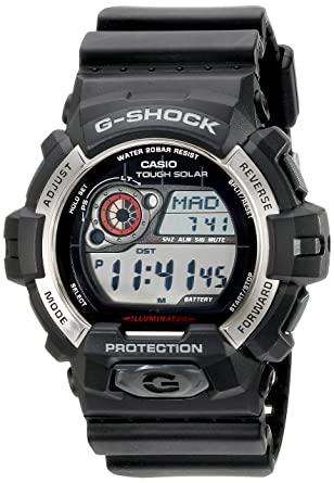 b1d98b657b5c Amazon.com  Casio Men s GR-8900-1CR Tough Solar G-Shock Digital Display  Quartz Black Watch  Watches