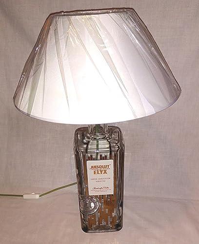 Lámpara de mesa de Absolut Vodka Botella Elyx 3 litros vacía ...