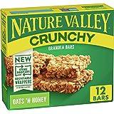 Nature Valley Crunchy Granola Bar Oats 'n Honey, 1.49 oz, 12 ct