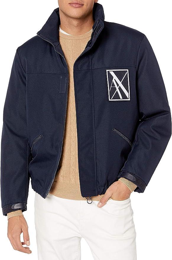 A|X Armani Exchange 阿玛尼 男式夹克外套 M码2.6折$77.62 海淘转运到手约¥598
