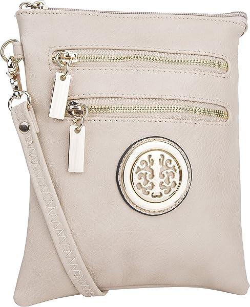 df443db7f6 Mia K. Farrow MKF Collection Fashion Trios Crossbody Bag