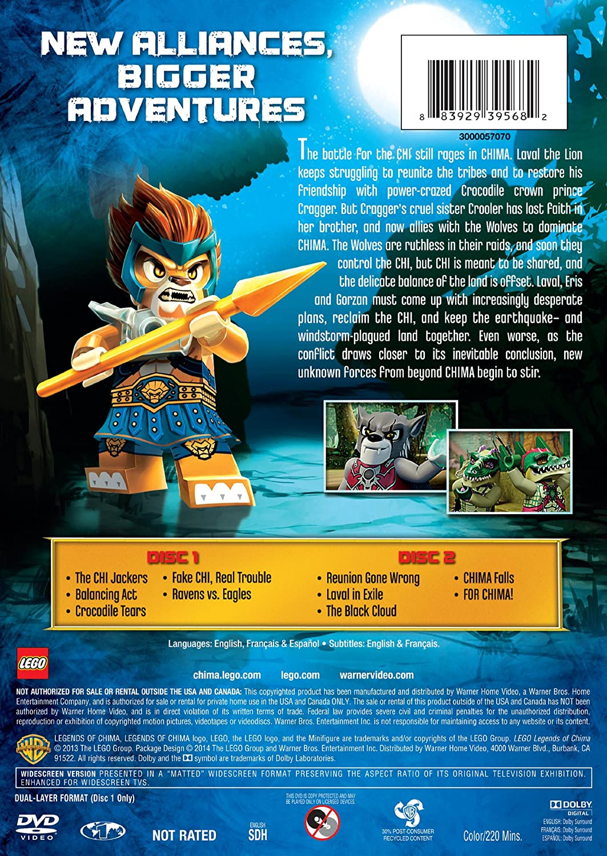 Amazon chima party supplies - Amazon Com Lego Legends Of Chima Season 1 Part 2 Dvd Scott Shantz David Attar Bill Courage Jeff Evans Todd Jesse Inocalla Meghan Kinsley