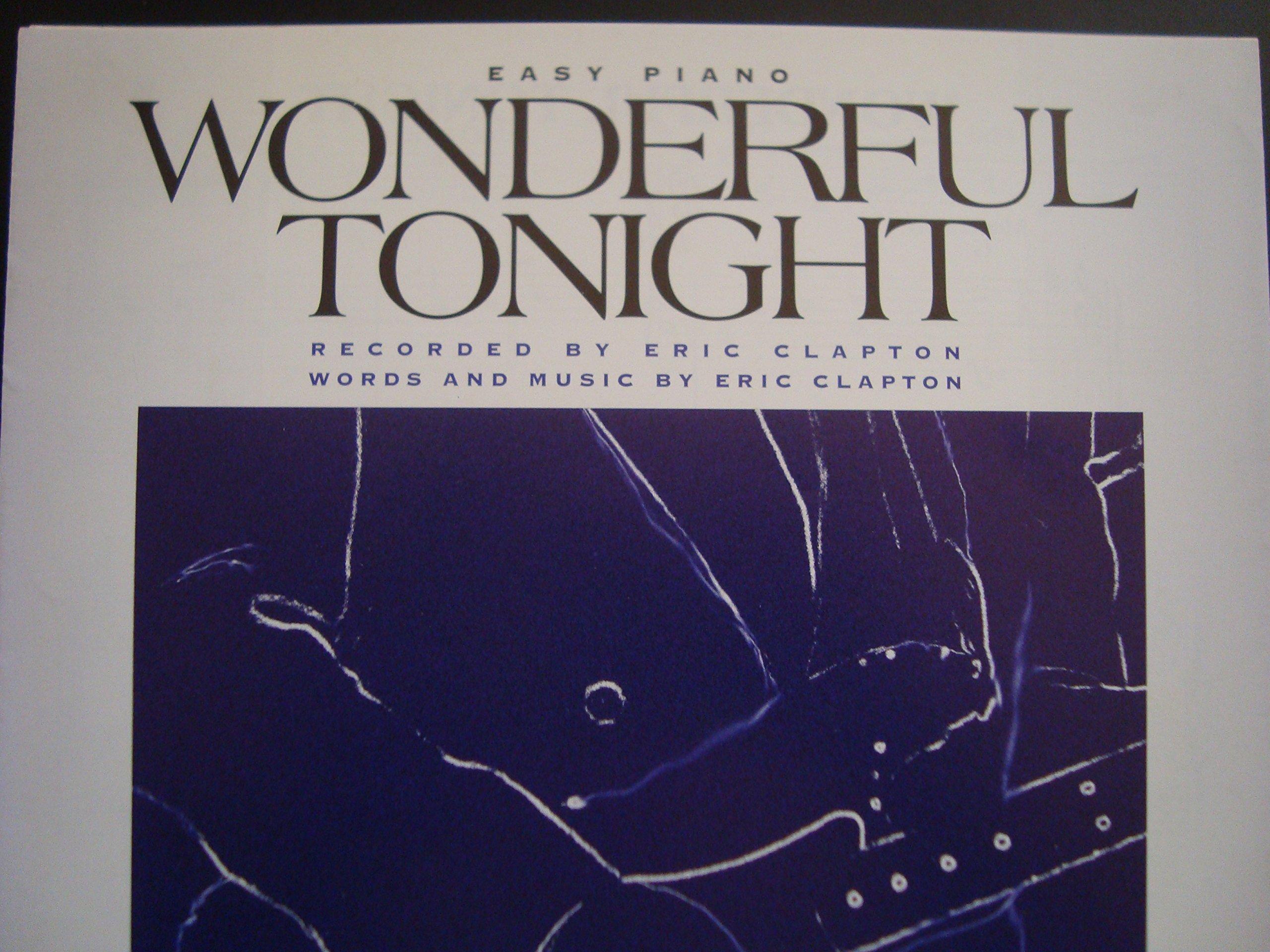 Clapton wonderful tonight guitar  Eric Clapton Wonderful