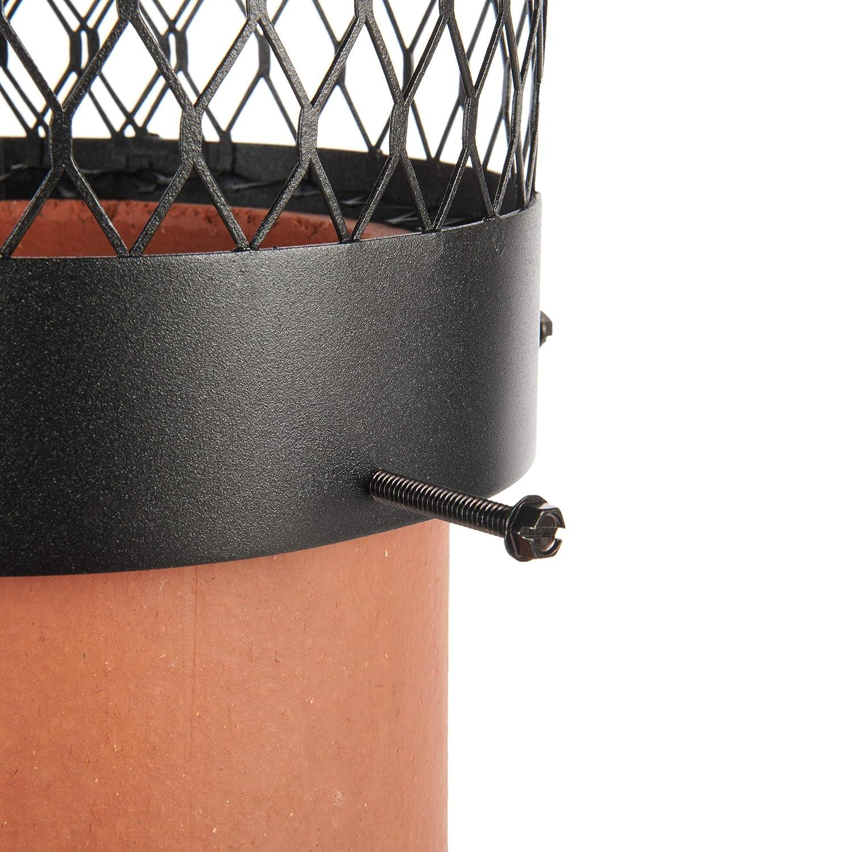 Draft King SS10U Round Bolt On Stainless Steel Single Flue Chimney Cap 10 Diameter