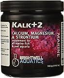Brightwell Aquatics ABAKALK225 Kalk Plus 2 Dry Salt Water Conditioners for Aquarium, 7.9-Ounce