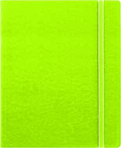 """Filofax Letter Size Notebook, 10.875"""" x 8.5"""", 112 Ruled Pages, Pear (B115107U)"""