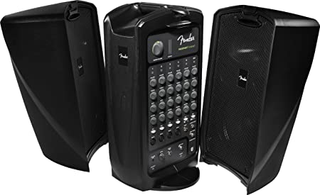 different view facings of fender passport event speakers