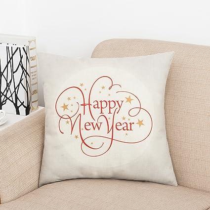 Amazon.com: Inspirational Cotton Linen Home Decorative Quotes Throw ...