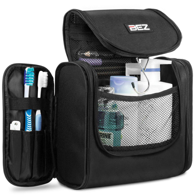 Kulturbeutel, Kulturtasche zum Aufhängen, BEZ Große Reise-Kulturtasche für Herren und Damen, Reisetasche mit Hängen, Waschtasche Toilettentasche und Waschbeutel Reisetasche mit Hängen
