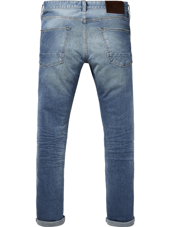 Scotch & Soda Herren Herren Herren Ralston - Blau Roots Straight Jeans B07CL5LQQQ Jeanshosen König der Quantität 3652a1