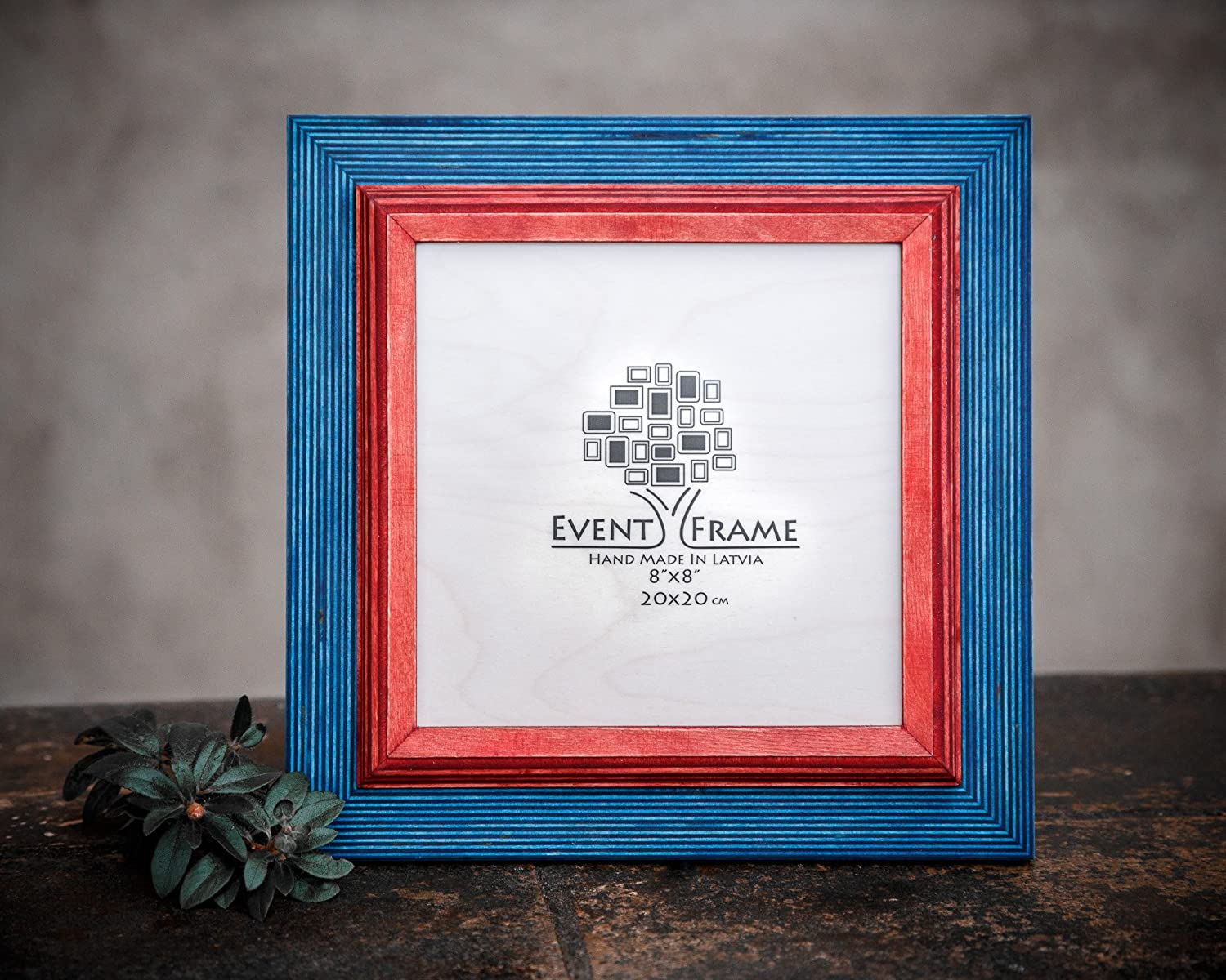 Red Picture Frame Wood Photo Frame Rustic Frame SIZES 4x4 4x6 5x5 5x7 5.5x8.5 6x6 6x8 7x7 7x9 8x8 8x10 10x10 8x12 8.5x11 11x14