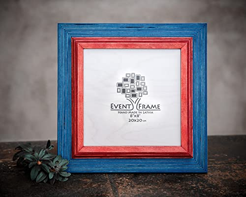 Brown Picture Frame Wood Photo Frame Rustic Frame SIZES 4x4 4x6 5x5 5x7 5.5x8.5 6x6 6x8 7x7 7x9 8x8 8x10 10x10 8x12 8.5x11 11x14