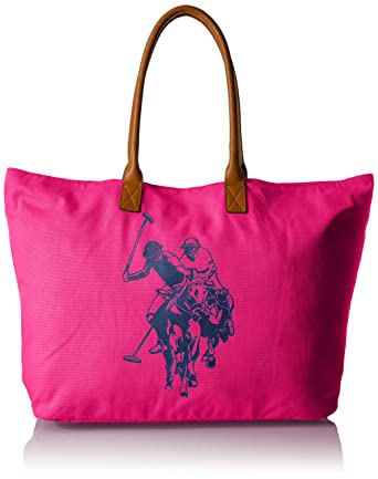 Amazon.com: US POLO Association Uspa Beach Tote, Cabaret: Clothing
