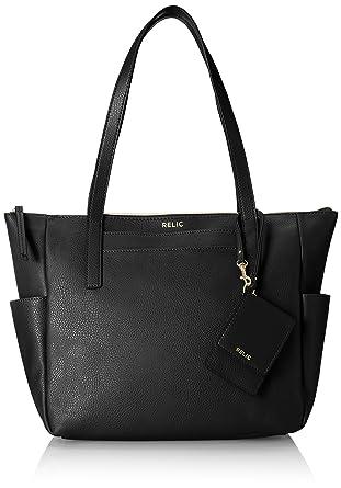 dc383436adc Relic RLH2664001, Black  Handbags  Amazon.com