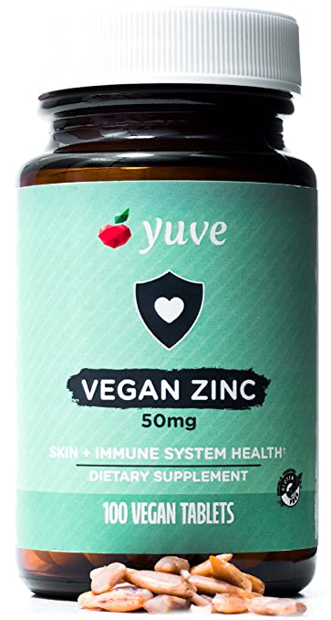 Amazon Com Yuve Vegan Natural Zinc Supplement Boosts Your Immune