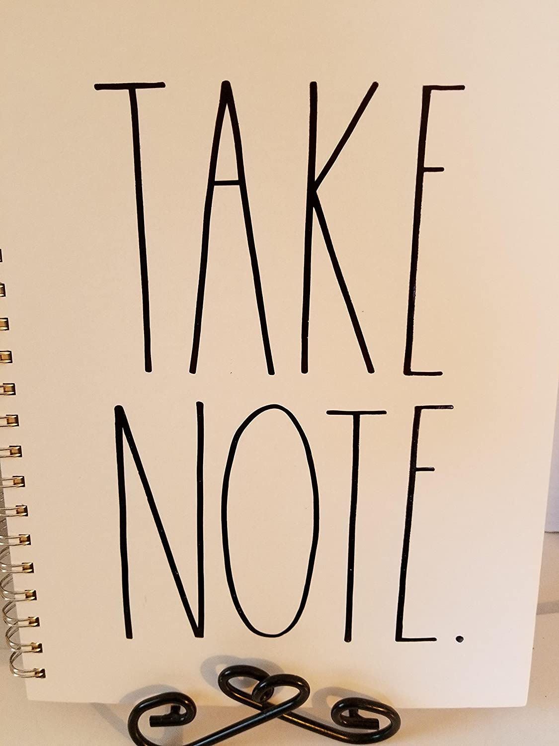 Amazon.com: Rae Dunn TAKE NOTE Large Notebook: Kitchen & Dining