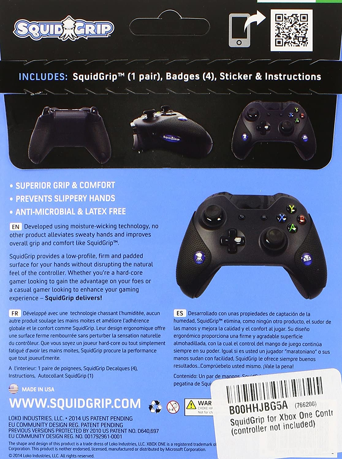 Amazon Squidgrip For Xbox One Controllers Video Games