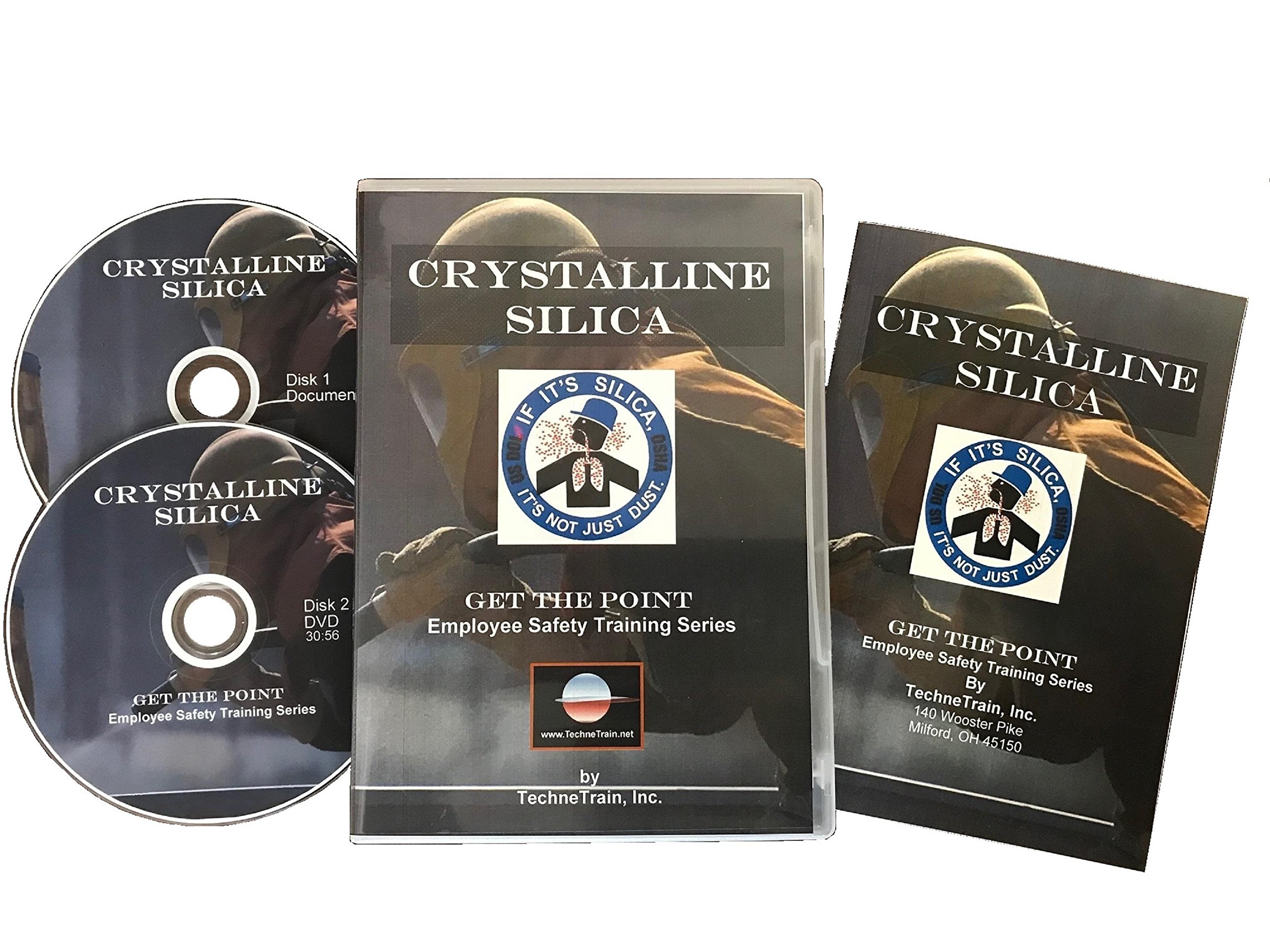 TechneTrain Get the Point Crystalline Silica Employee Safety Training Program DVD (GENERAL INDUSTRY) by TechneTrain