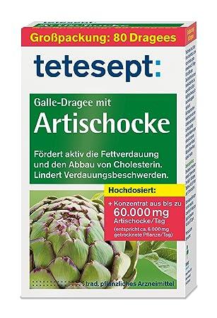 tetesept Galle-Dragee mit Artischocke – Dragees mit ...
