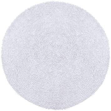 hand o products rug elm circle shine round white loomed west
