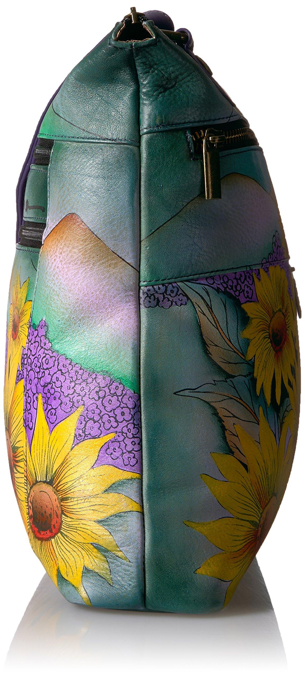 Anuschka Hand Painted Leather Large Crossbody by ANUSCHKA (Image #3)