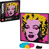 LEGO Art Andy Warhol's Marilyn Monroe 31197 Collectible Building Kit for Adults; an Excellent Gift for Adults to Make…