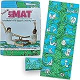 Kids Yoga Mat - My MAT (My Mindfulness & Affirmations Time) Foldable Kid's Yoga & Activity Mat
